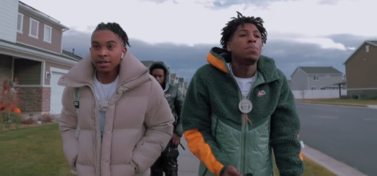Incorporated Style Cover Imager For Youngboy Nba Rjae Give Some More Music Video