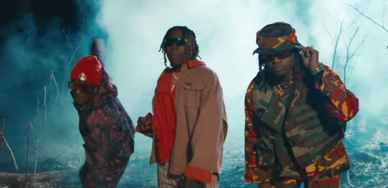 Incorporated Style Cover Imgage For Don Toliver Lil Uzi Vert And Gunna His And Hers Music Video