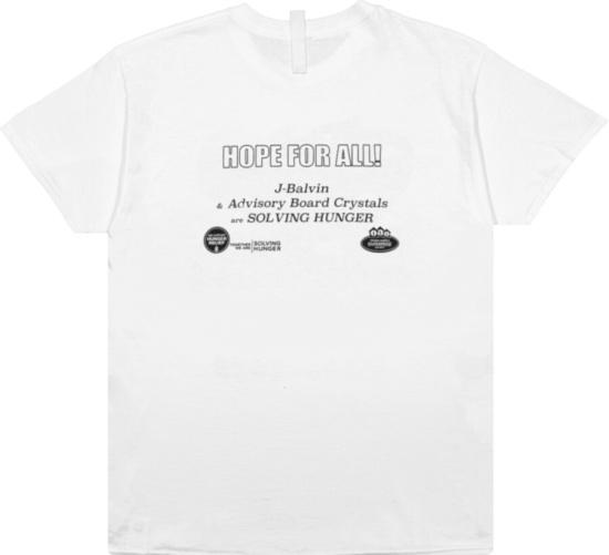J Balvin Feeding America Crayon T Shirt