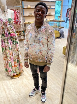 Jackboy Goes Shopping In A Diro X Soyarama Sweatshirt And Dior Sneakers