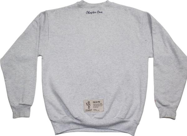 Jj Grant Grey Crewneck Sweatshirt