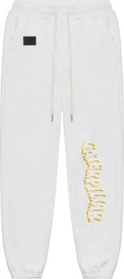 John Elliott X Caterpillar White Sweatpants