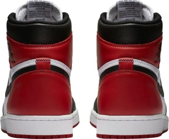 Jordan 1 Black Toe Sneakers