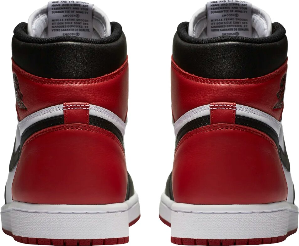 Jordan 1 Black Toe Sneakers