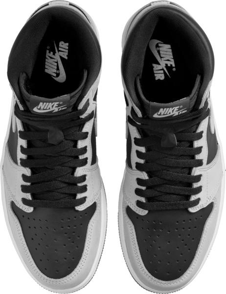 Jordan 1 High Black And Grey