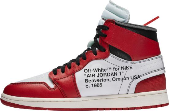 Jordan 1 High X Off White Chicago