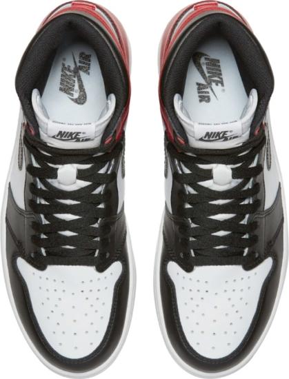 Jordan 1 Retro Black White Red