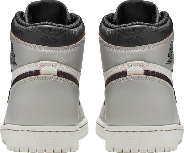 Jordan 1 Retro High Defiant Og Grey White And Black