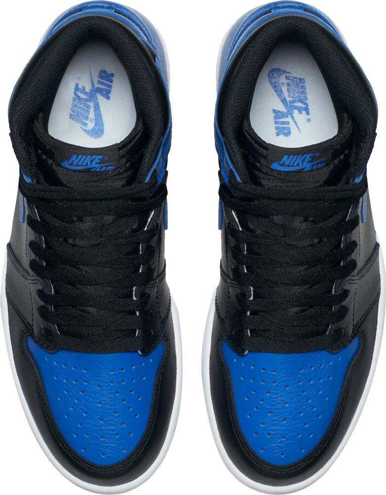 Jordan 1 Retro High Og Royal Blue Sneakers