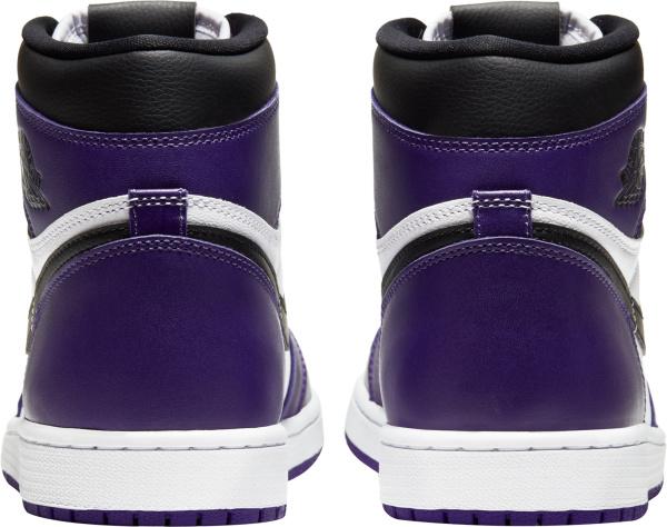 Jordan 1 Retro High Purple White And Black