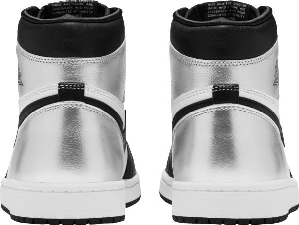 Jordan 1 Retro High Silver Toe