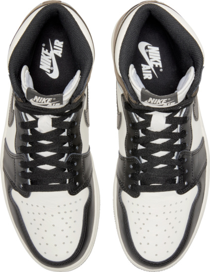 Jordan 1 Retro High White Black Dark Brown