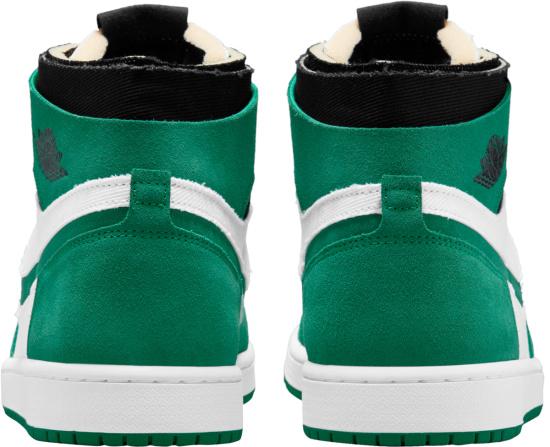 Jordan 1 Retro High White Green And Black