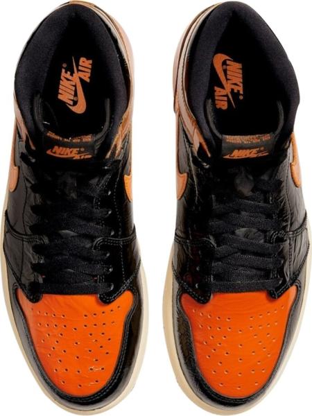 Jordan 1 Shattered Backboard Patent Sneakers