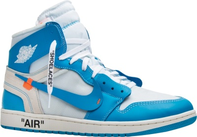 Jordan 1 X Off White Og High 'unc'