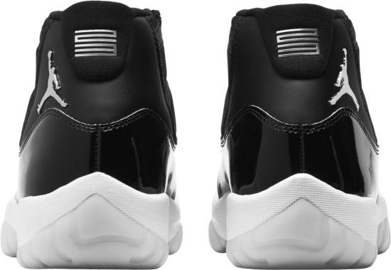 Jordan 11 Retro 25th Anniversary Black And Clear