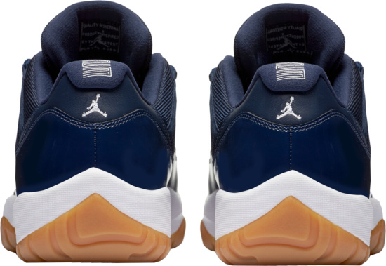 Jordan 11 Retro Low Navy Gum