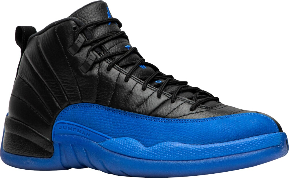 Jordan 12 Black And Blue