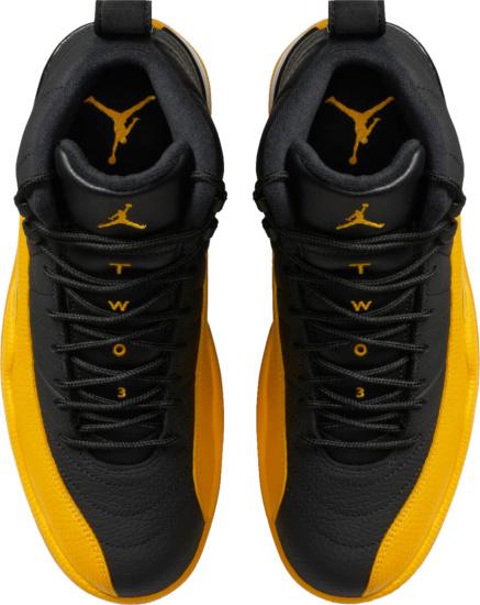 Jordan 12 Black Yellow