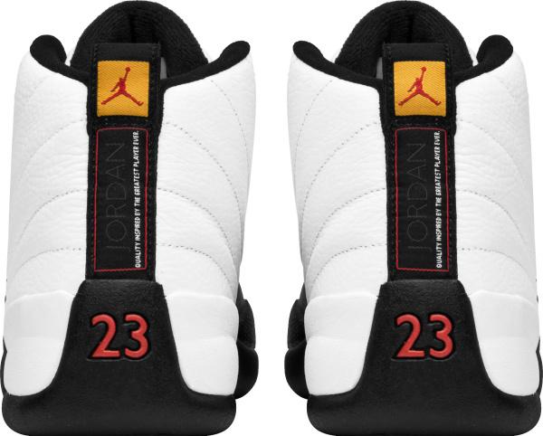 Jordan 12 Retro White And Black