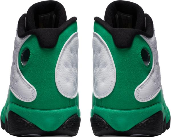 Jordan 13 Retro White Green Black