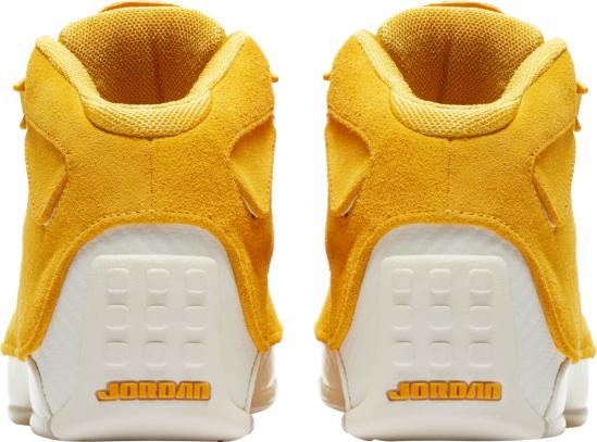 Jordan 18 Retro Yellow Ochra