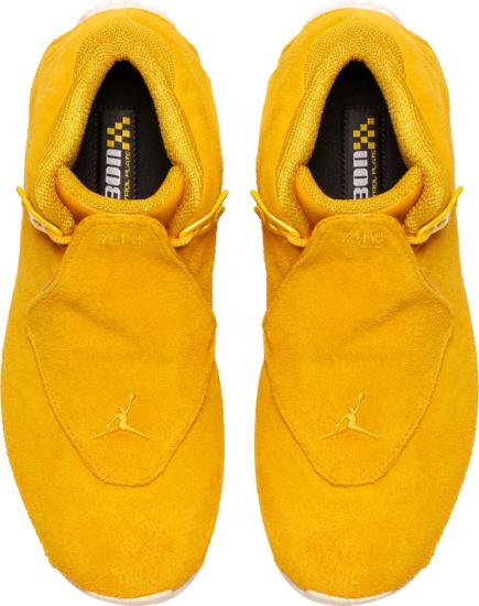 Jordan 18 Retro Yellow Suede