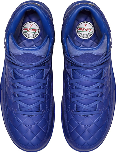 Jordan 2 All Blue Quilted