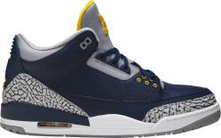 Jordan 3 Michigan