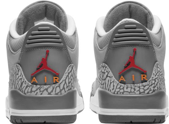 Jordan 3 Retro Cool Grey
