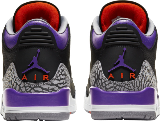 Jordan 3 Retro Court Purple