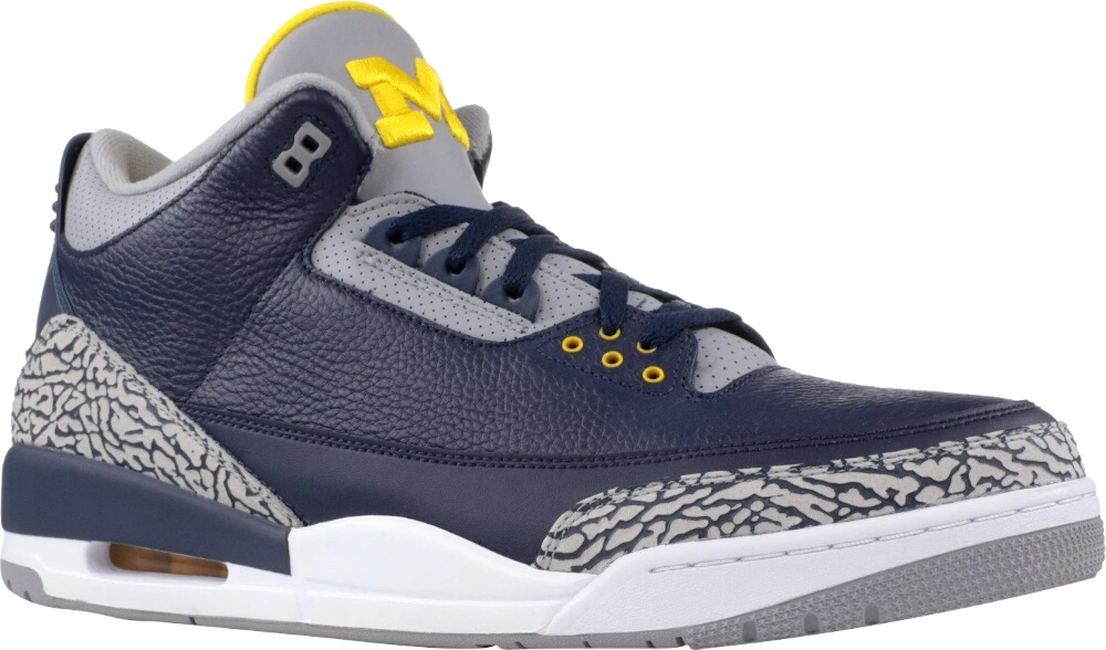 Jordan 3 Retro Michigan