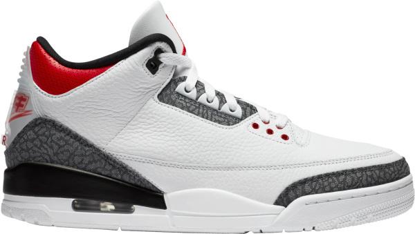 Jordan 3 Retro Red Denim Japan