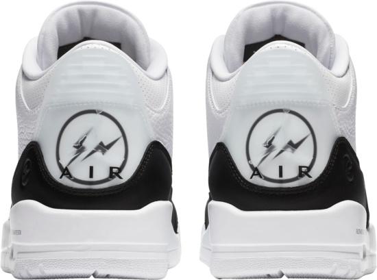 Jordan 3 Retro X Fragment White Black