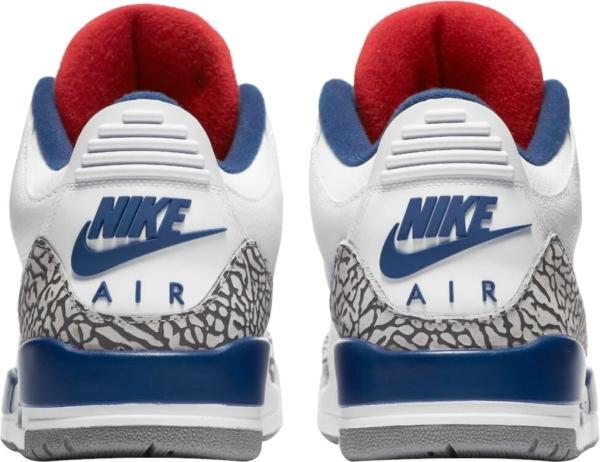 Jordan 3 True Blue Sneakers