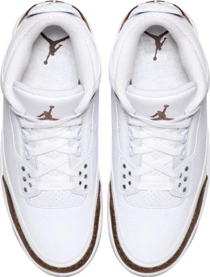 Jordan 3 White Crhome Mocha