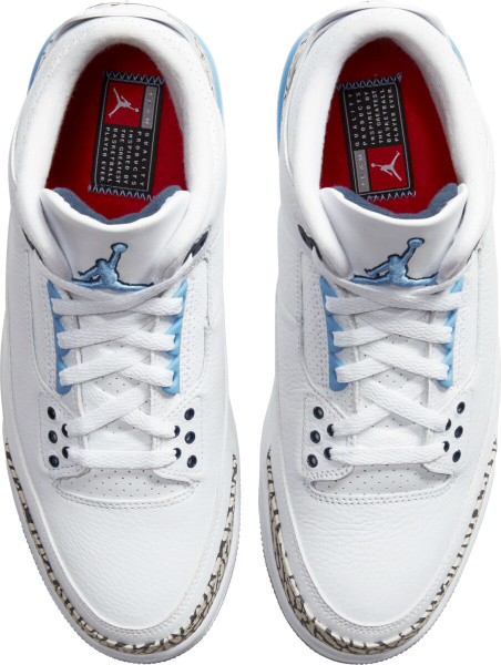 Jordan 3 White Unc