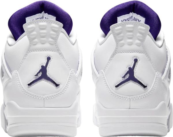 Jordan 4 Metallic Purple