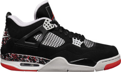 Jordan 4 Retro X Ovo Black Splatter Sample