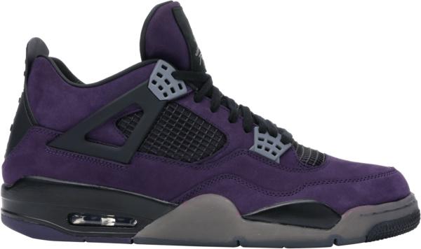 Jordan 4 Retro X Travis Scott Purple Friends And Family