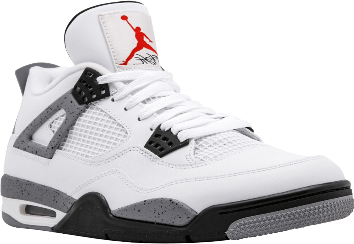 Jordan 4 'white Cement' Sneakers