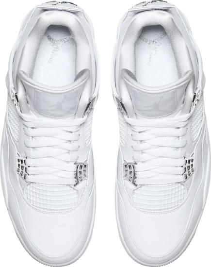 Jordan 4 White Pure Money