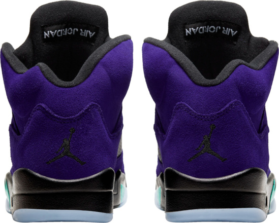 Jordan 5 Purple Black Teal