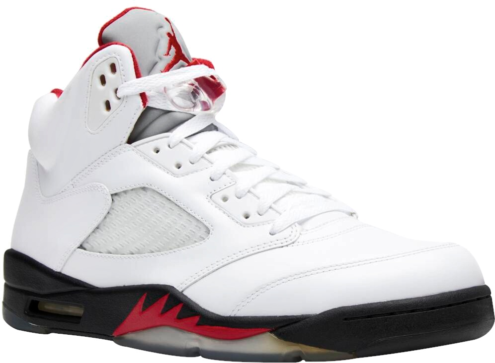 Jordan 5 Retro Fire Red Sneakers
