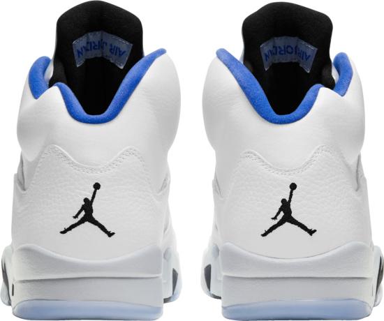 Jordan 5 Retro White Grey And Light Blue
