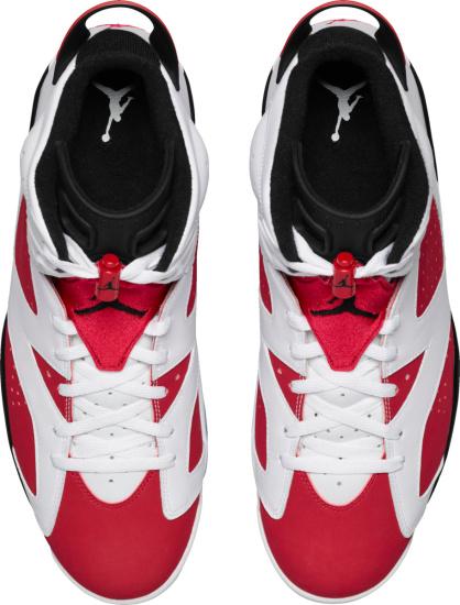 Jordan 6 Retro White And Red