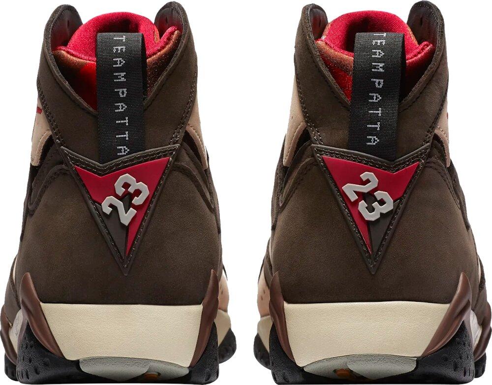 Jordan 7 X Patta Brown Beige