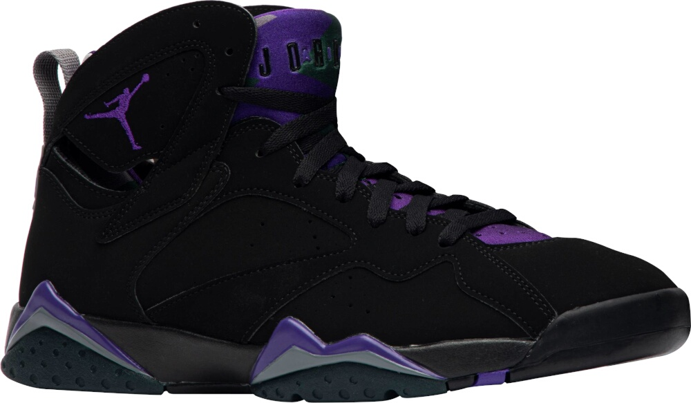 Jordan 7 X Ray Allen Black Purple