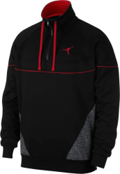 Jordan Black Vault Quarter Zip