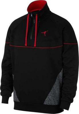 Jordan Black Vault Quarter Zip